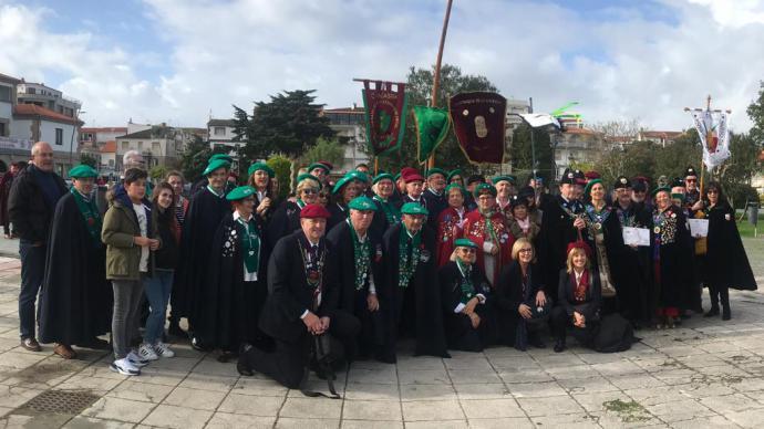 La Fiesta del Centollo Larpeiro reunió a 34 cofradías en O Grove