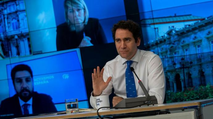 El secretario general del PP, Teodoro García Egea.PARTIDO POPULAR