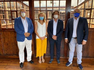 Los presidentes de las patronales turísticas de Canarias