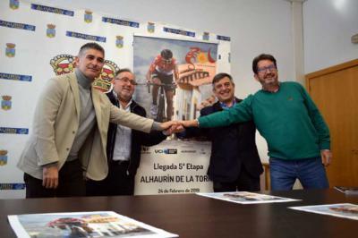 De izquierda a derecha, Prudencio Ruiz, Joaquín Villanova, Joaquín Cuevas y Gerardo Velasco.