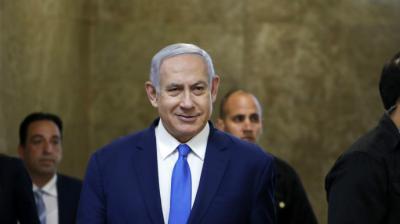 El primer ministro israelí, Benjamin Netanyahu