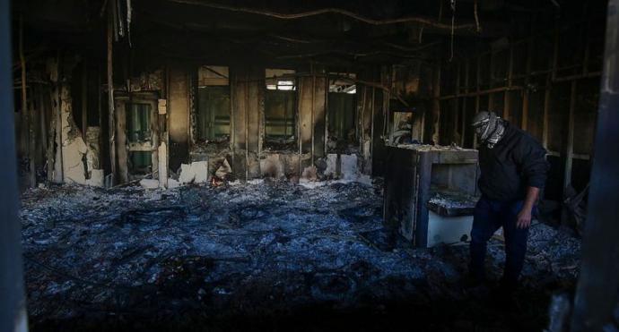 Irak: Así quedó la embajada de Estados Unidos en Bagdad tras ataque de milicianos pro Irán
