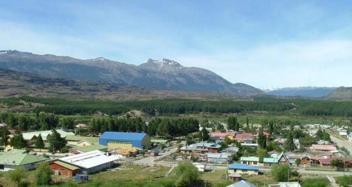 el poblado de Cochrane en el extremo austral de Chile