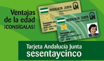 Málaga cuenta ya con más de 167.500 personas mayores de 65 años titulares de la Tarjeta Andalucía Junta sesentaycinco