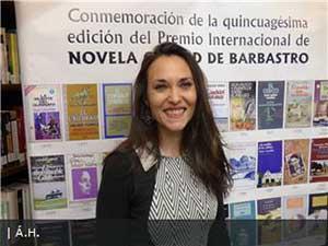 """Florencia del Campo: """"La versión extranjera"""", Premio Internacional de novela Ciudad de Barbastro 2019"""
