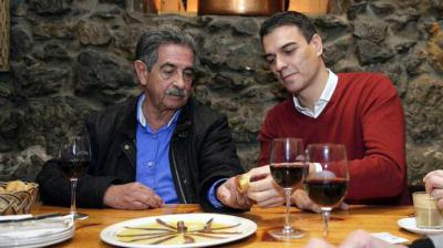 Pedro Sánchez y Miguel Ángel Revilla