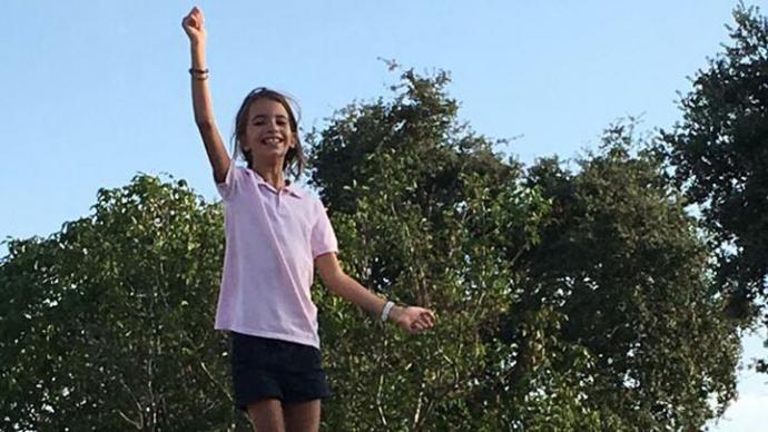 Inés, de 11 años.