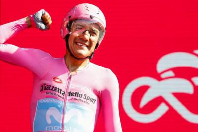 Richard Carapaz, vencedor del Giro D'Italia 2019