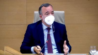 El exsecretario de Estado de Seguridad con el PP Francisco Martínez declara en la comisión Kitchen del CongresoEUROPA PRESS