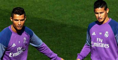 """Cristiano Ronaldo: """"James tiene mucho que darle al Real Madrid"""""""
