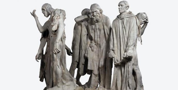 Rodin y Giacometti