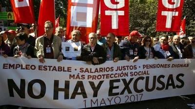 Primero de Mayo para reclamar estabilidad laboral y aumento salarial