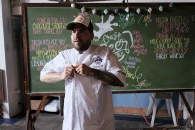 """El chef peruano Darwin Santa María fue uno de los participantes del evento gastronómico """"La Ruta del Sabor"""" en Puntarenas, Costa Rica."""