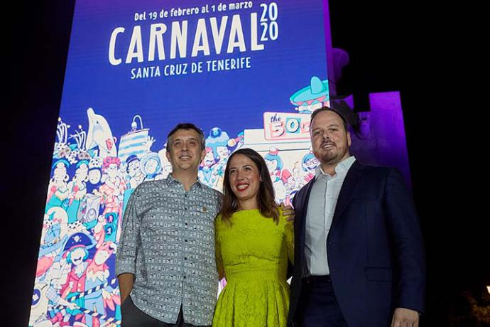 Santa Cruz de Tenerife presenta el cartel del Carnaval 2020 con un diseño innovador