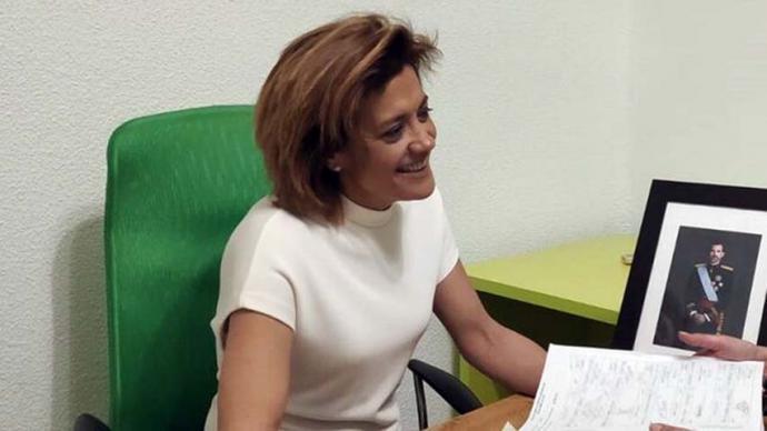 La concejala del Ayuntamiento y presidenta provincial del partido, Rosario Velasco