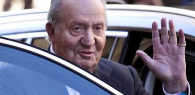 Juan Carlos I en una imagen de archivo (captura de pantalla)