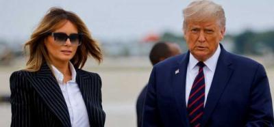 Trump y su esposa contagiados de Covid-19