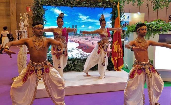 Grupo de Danza Sri Lanka en FITUR 2018