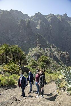 El barranco de Masca abre al público en Adeje, el Sur de Tenerife