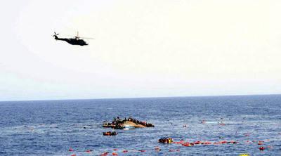 Rescatan en el Mediterráneo a 100 inmigrantes procedentes de Marruecos