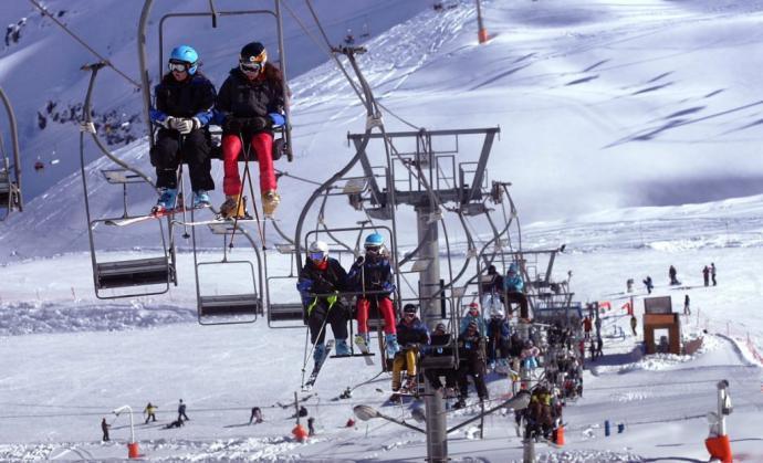 El campeonato Freestyle Tour aterriza en La Parva