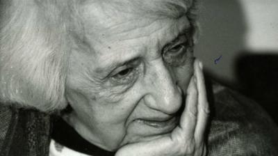 María Zambrano (archiVO)