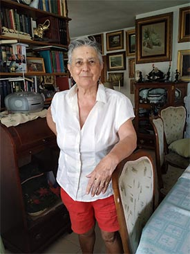 Ana María Muela, Michi, narradora de cuentos