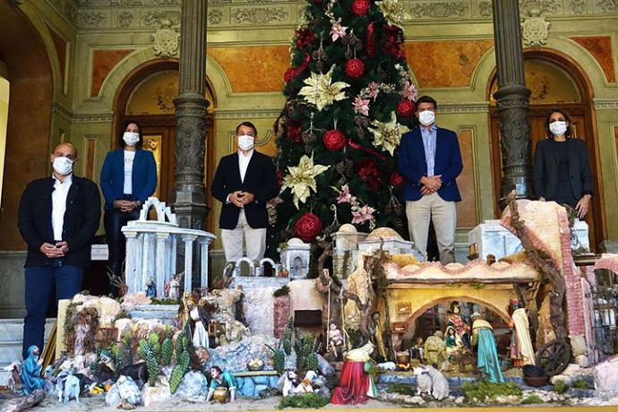 El Ayuntamiento de Santa Cruz de Tenerife, acoge hasta el próximo 8 de enero su tradicional belén navideño
