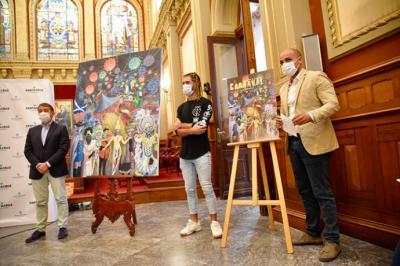 """""""Una noche de Carnavales del Mundo"""", elegido cartel oficial del Carnaval 2021 de Santa Cruz de Tenerife"""
