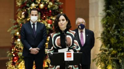 Ayuso, sobre el hospital de pandemias y la armonización fiscal: 'Los catalanes pagan 34 'zendales' en impuestos'