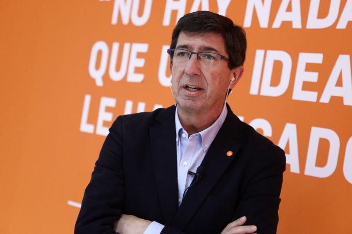 Marín (Cs) deja en el aire el nuevo Gobierno andaluz: 'Habrá una investidura y cada fuerza política tendrá que decidir'