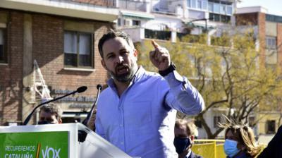 El presidente de Vox, Santiago AbascalDAVID_OLLER_BONILLA