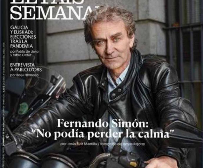 """Portada de """"El País  Semanal"""""""