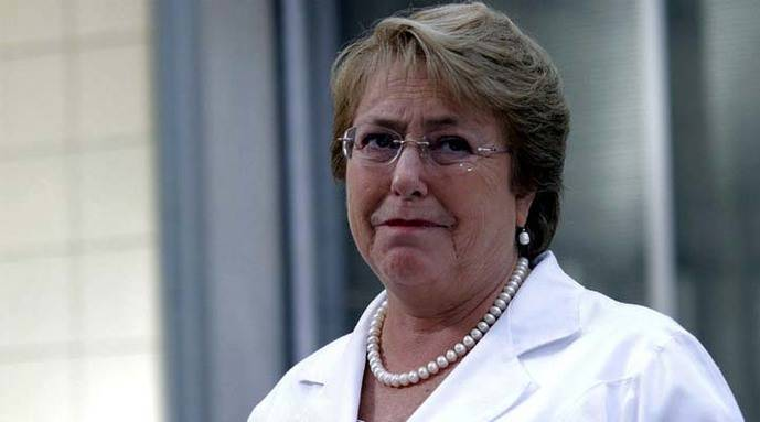 La presidenta de Chile Michelle Bachelet ratificó entrega argumentos sobre Silala en La Haya