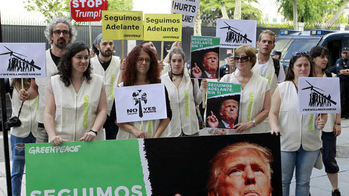 Trump, aislado tras su decisión de sacar a EEUU del Acuerdo de París
