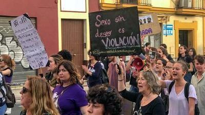 """Manifestación contra """"La Manada…"""""""