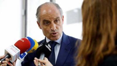 Francisco Camps, ex presidente de la Generalitat valenciana