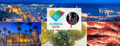 Periodistas de diez nacionalidades visitan Almería para conocer sus propuestas como CEG 2019