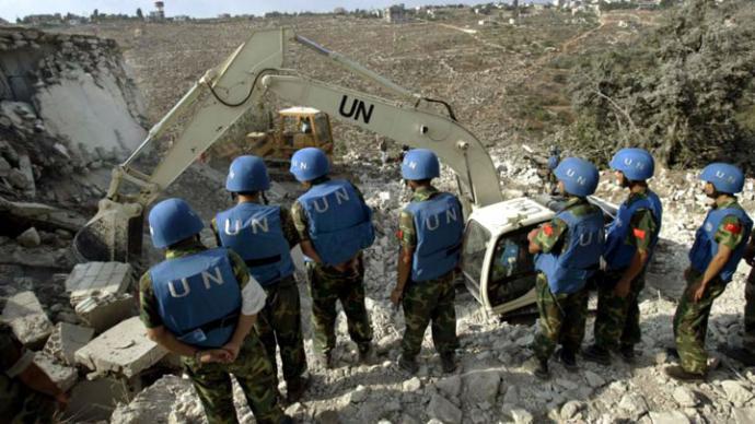 Cascos Azules regresan a límite entre Siria y los Altos del Golán