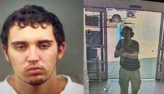Patrick Crusius usó un rifle en el ataque en el Walmart de El Paso, Texas.