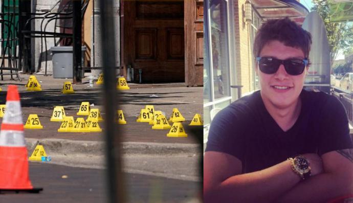 Connor Betts sospechoso del tiroteo en Ohio. (Foto publicada por New York Post tomada del Facebook de Connor Betts).