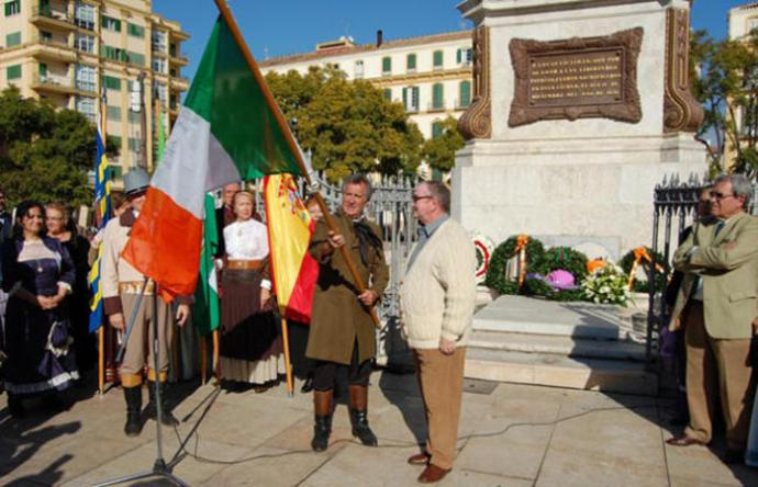 Robert Boyd, an Irish romantic hero in Malaga, Spain