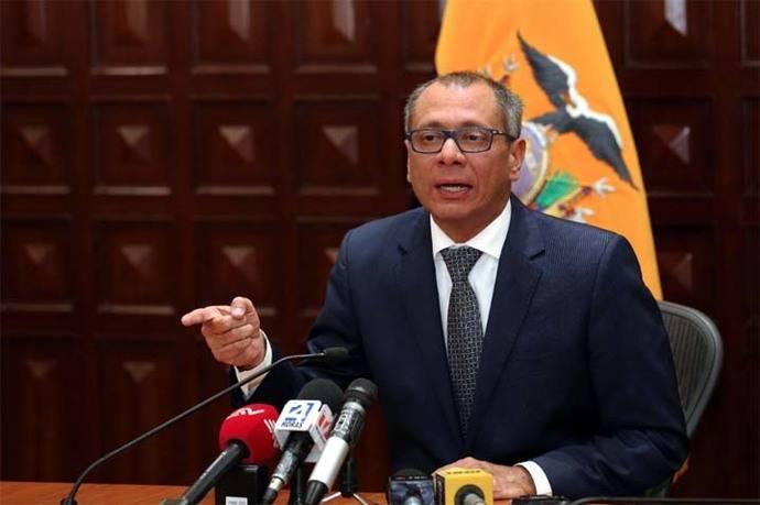 ¿Por qué suspendieron al vicepresidente de Ecuador, Jorge Glas?