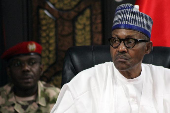 El presidente de Nigeria, Muhammad Buhari