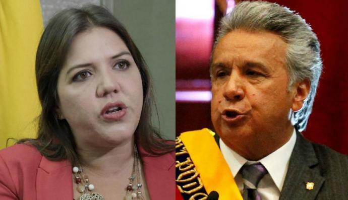 Presidente de Ecuador separa de su cargo a vicepresidenta investigada por corrupción