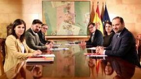 PSOE y ERC avanzan en un marco político para resolver el 'conflicto' y aspiran a generar un discurso común para allanar la investidura