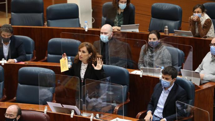 La diputada de Más Madrid, Mónica García.