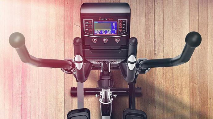 Bicicleta elíptica, el deporte en casa