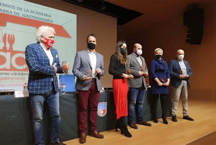 Entregados los Premios de Gastronomía de Cantabria