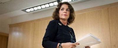 Ana Botella. ex alcaldesa de Madrid